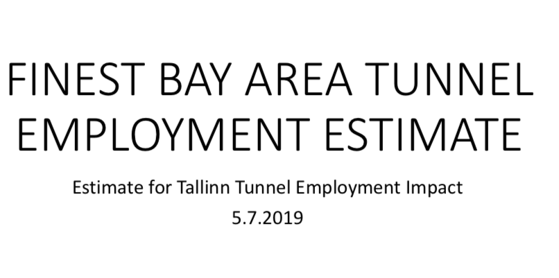 Finestbay Area Development Employment Estimate