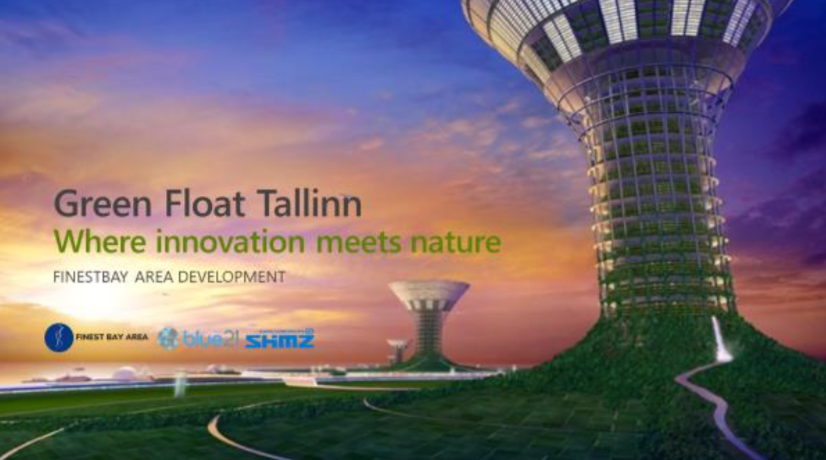 """Green Float Tallinn"" – New Maritime Living, Business And Recreational Area Planned"